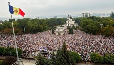 Chisinau protesta anti EU