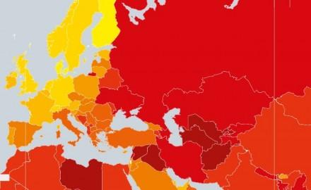 Transparency international Moldova Corruption perception index