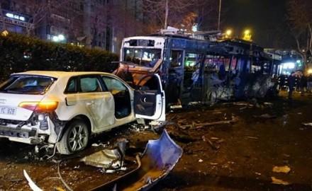 attentato in turchia - autobomba ankara
