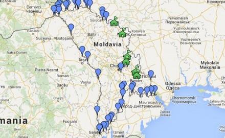 moldova confini