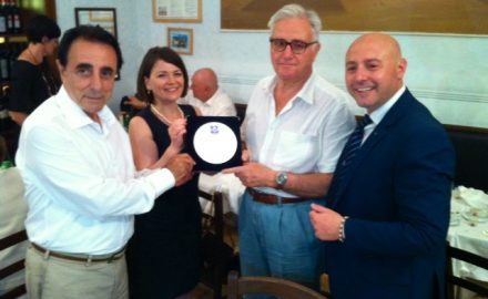 Premiazione ambasciatore s.e. Marco Sorace Maresca