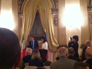 I festeggiamenti a Roma per il 25^ anniversario dell'indipendenza della Repubblica di Moldova