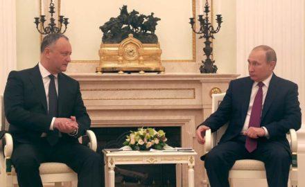 Putin e Dodon