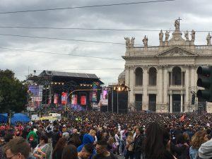 In migliaia per il Concertone del 1 maggio a Roma, tanti i moldavi presenti