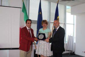 Chisinau, Asib - PT Group Salute: assegnati i premi Personaggi dell'anno 2016. Giuseppe Arnò - S.E. Valeria Biagiotti - Paolo Trotta