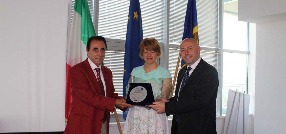Giuseppe Arnò - S.E. Valeria Biagiotti - Paolo Trotta