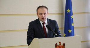Andrian Candu, presidente del Parlamento moldavo