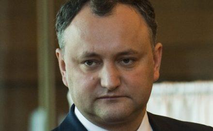 Igor Dodon pensieroso