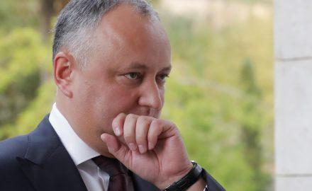 Igor Dodon sospeso da Presidente della Repubblica