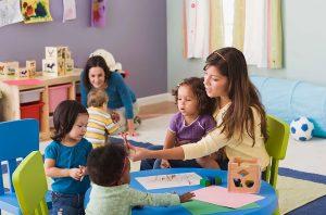 Insegnanti delle scuole materne