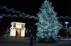 Albero di Natale Chisinau