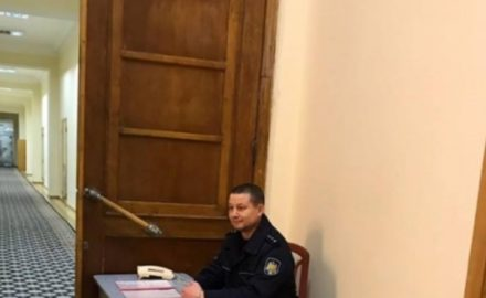 A guardia del Municipio di Chisinau