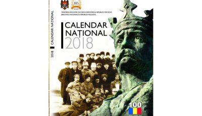Calendario Nazionale 2018