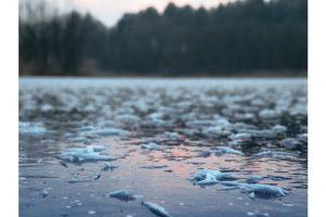 Formazione di ghiacchio in Moldova