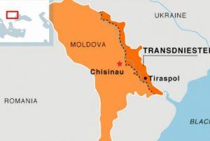 Mappa della Moldova