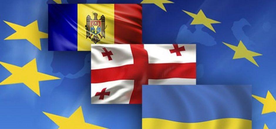 Moldova, Ucraina e Georgia