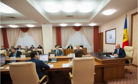 Riunione di gabinetto in Moldova