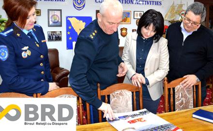 Ședință de lucru privind implicarea diasporei în dezvoltarea domeniului situații excepționale din Republica Moldova