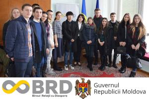 Dialog între studenții din Republicii Moldova cu reprezentanții Biroului relații cu diaspora din cadrul Cancelariei de Stat