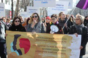Marcia femminile della solidarietà