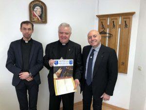 Mons Anton Cosa e Paolo Trotta