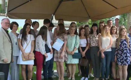 Premiazione degli studenti moldavi