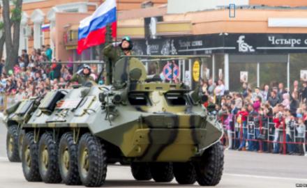 Soldati russi a Tiraspol