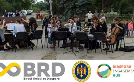 Lelița Franța revine să joace Sârba Moldovenească