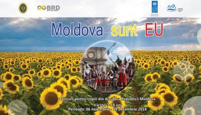 """""""Moldova sunt EU"""" - concurs pentru copiii din diaspora Republicii Moldova"""