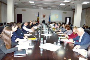 Comitetul interministerial în domeniul diasporei, migrației și dezvoltării (CIDMD), convocat într-o ședință de lucru