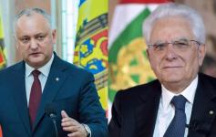 Igor Dodon e Sergio Mattarella