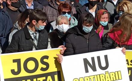 Protesta a Chisinau